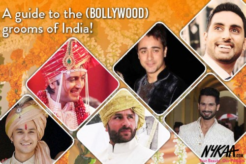 A guide to the (Bollywood) grooms of India!