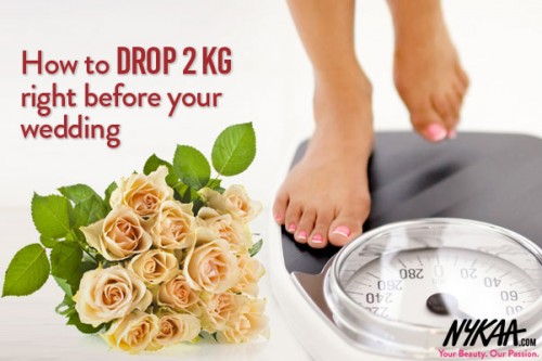 How to drop 2 kg right before your wedding!