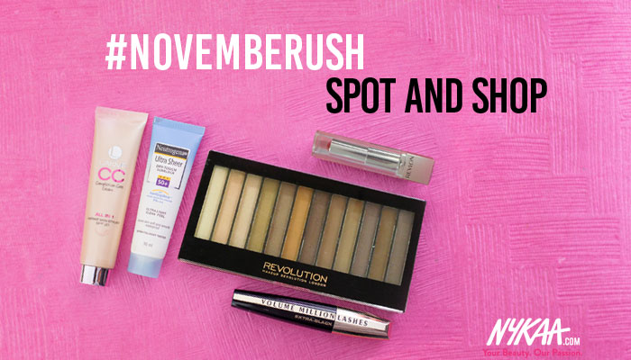 #Novemberush: Spot and Shop