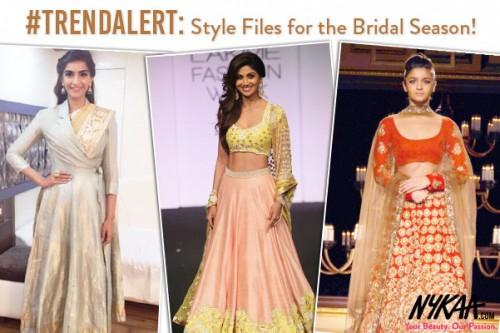 #TrendAlert: Style Files for the Bridal Season!