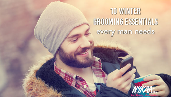 10 winter grooming essentials every man needs