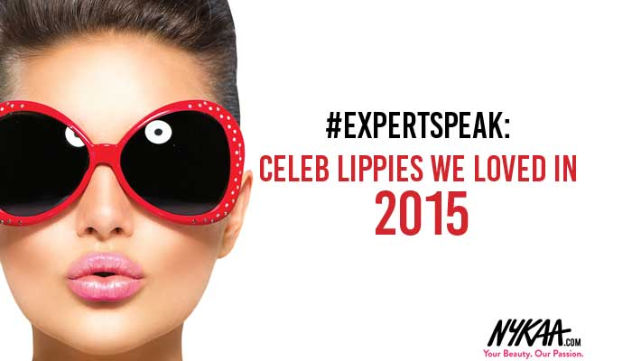 #ExpertSpeak: Celeb lippies we loved in 2015
