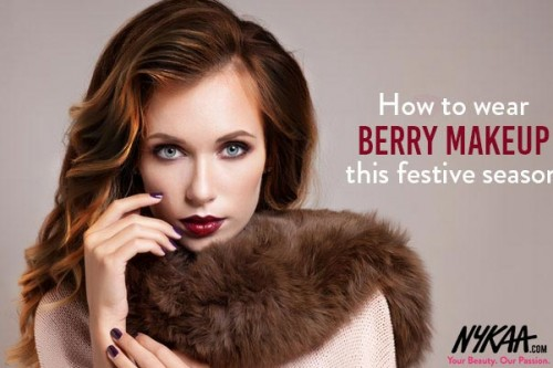 How To Wear Berry Makeup This Season