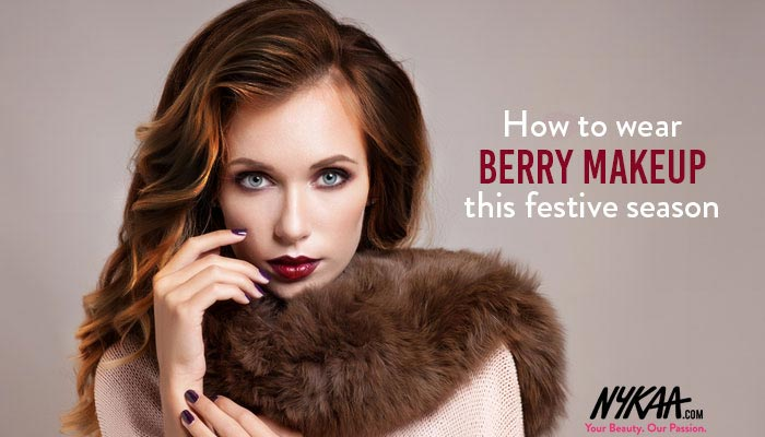 How to wear berry makeup this festive season