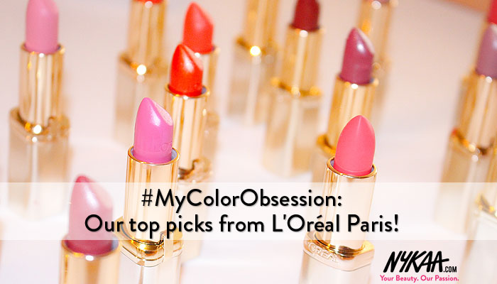 #MyColorObsession: Our top picks from L'Oréal Paris!