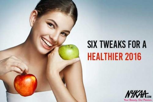 6 Tweaks For A Healthier 2018