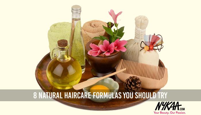8 natural haircare formulas you should try