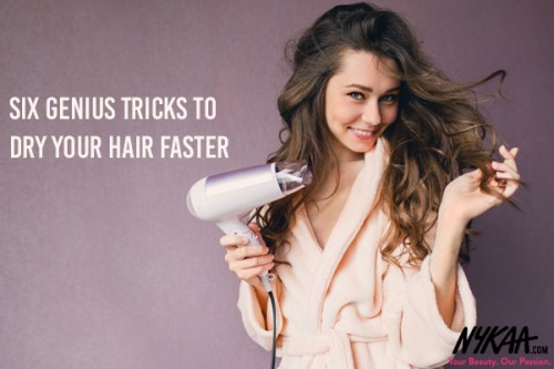 Six genius tricks to dry your hair faster