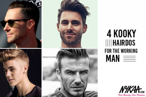 4 kooky hairdos for the working man