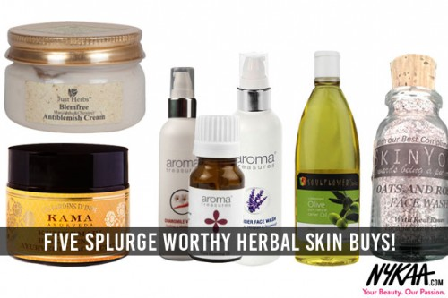 Five splurge worthy herbal skin buys!