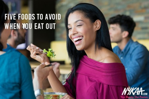 Five foods to avoid when you eat out
