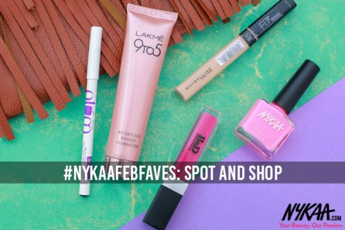 #NykaaFebFaves: Spot and Shop