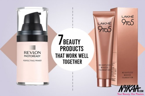 Seven beauty products that work well together