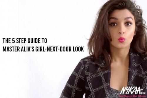 The 5 step guide to master Alia's girl-next-door look