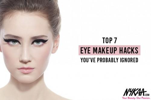 Top 7 Eye Makeup hacks you've probably ignored