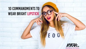 10 commandments to wear bright lipstick