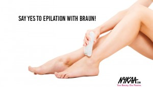 Say Yes to Epilation with Braun