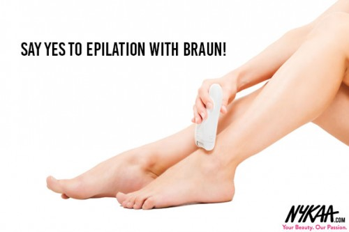 Say Yes to Epilation with Braun!