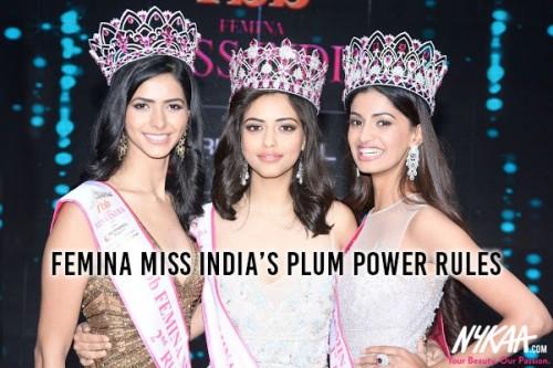 Femina Miss India's Plum Power Rules