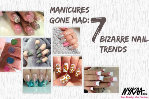 Manicures gone mad:7 bizarre nail trends