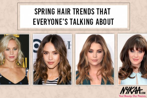 Spring Hair Trends That Everyone's Talking About