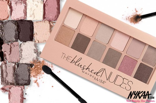 #SwatchAttack:  Maybelline The Blushed Nudes Eyeshadow Palette