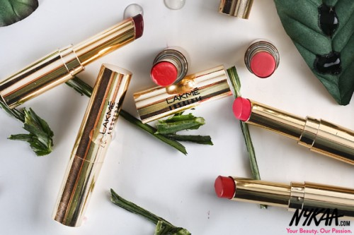 Nykaa Exclusive: Lakme Absolute Argan Oil Lip Color