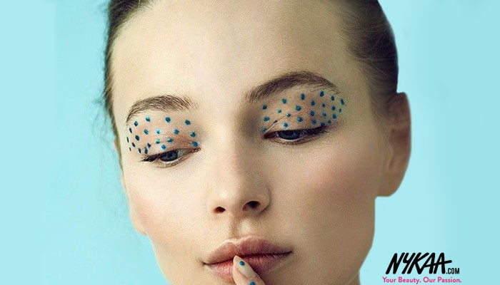 ON POINT: The Artsy Makeup Trend Dotting the Runways