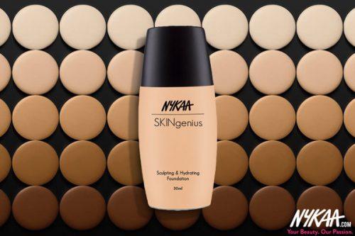 Skin Perfection with the Nykaa Skingenius Foundation Range