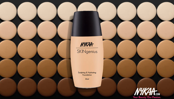 84129966910 Skin Perfection with the Nykaa Skingenius Foundation Range