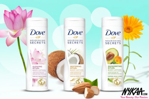 Just Landed: Dove Winter Care Nourishing Lotions
