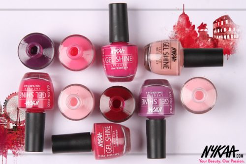 Travel The World With Nykaa Salon Shine Gel Nail Lacquer