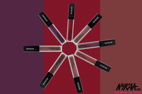 This Just In: SUGAR Suede Secret Matte Lip Colour