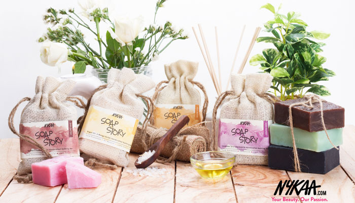 Bathing Redefined Thanks To Nykaa Soap Story
