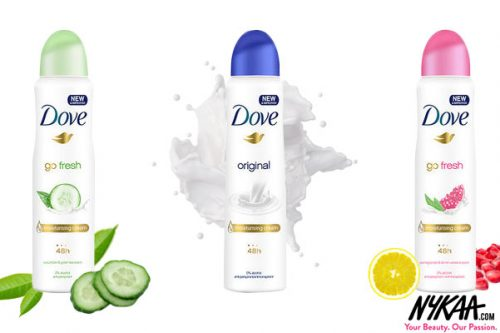 Ace the Antiperspirant Game with Dove's New Deos