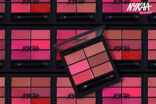 Hot New Launch: Nykaa's Sealed With a Kiss Lip Palette