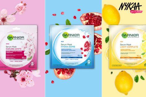 This Just In: Garnier Skin Naturals Serum Masks