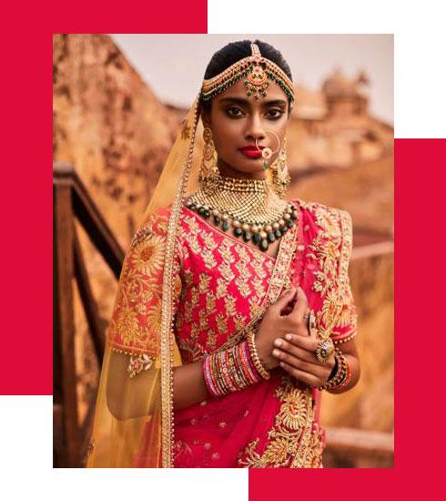 Bridal Makeup Looks For Stunning Dusky Brides - 2