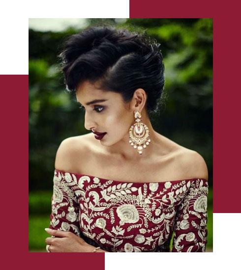Bridal Makeup Looks For Stunning Dusky Brides  3