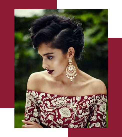 Bridal Makeup Looks For Stunning Dusky Brides - 4