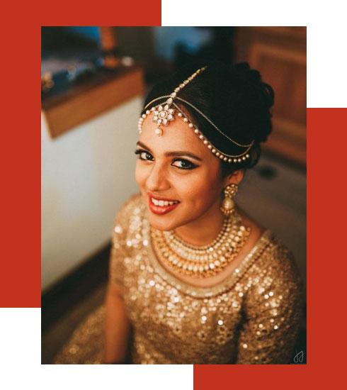Bridal Makeup Looks For Stunning Dusky Brides - 6