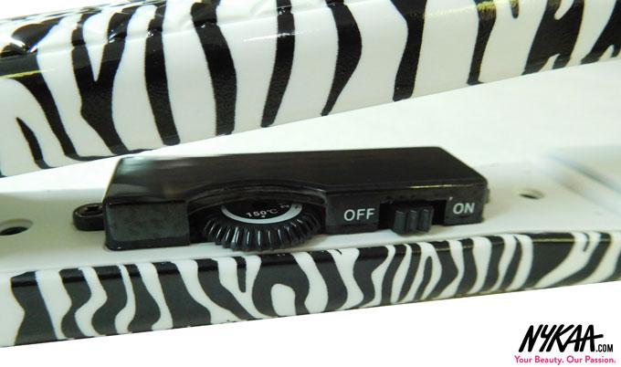 In Review: Corioliss Pro V Platinum Zebra Hair Straightener  2