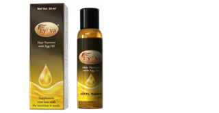 In review: Eyova Hair Nutrient with Egg Oil  1