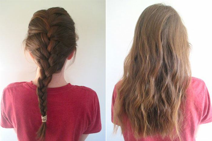10 Lazy Girl Hair Hacks for Fabulous Tresses| 3