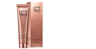 All day glam with Lakme 9 to 5 Weightless Mousse Foundation - 1