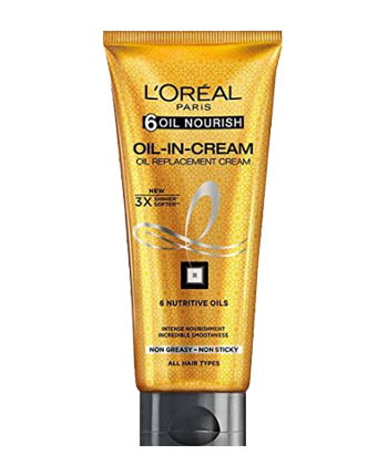 In Review: L'Oreal Paris Hair Expertise Oil Replacement Cream  1