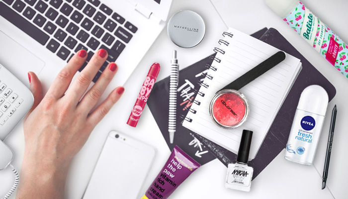 Must Have Beauty Products You Should Have at the Office | Nykaa's Beauty Book 1