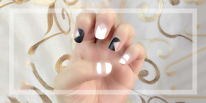 Three Cool Nykaa Matte Nail Art Designs| 3