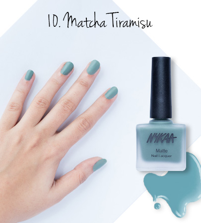 In Review: Nykaa Matte Nail Enamels - 10