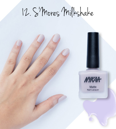 In Review: Nykaa Matte Nail Enamels - 12